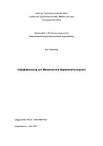 Deckblatt DiplArbeit