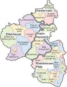 Karte RAGs RLP